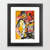 Warmth from Heart and Hand Framed Art Print
