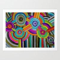 Atomium Art Print