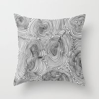 Contours Throw Pillow