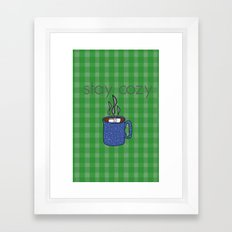 December Framed Art Print