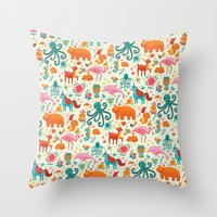 Fantastical Throw Pillow