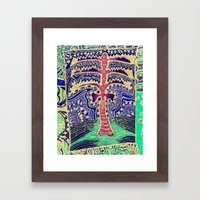 Jardin 5 Framed Art Print