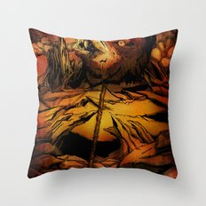 ROTTING EARTH Throw Pillow