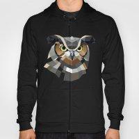 Geometric Owl Hoody