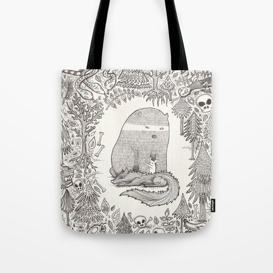froggle, doggle and poggle Tote Bag