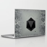 city Laptop & iPad Skins featuring City Intruder by Zavu