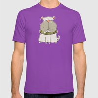 Top Dog Mens Fitted Tee Ultraviolet SMALL