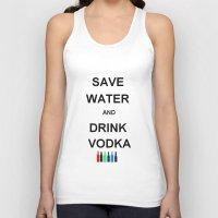 Drink Vodka Unisex Tank Top