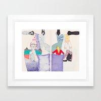 Nonsensical Play 2 Framed Art Print
