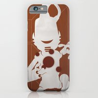 iPhone & iPod Case featuring CHAM.AN.DROID by Alex.Raveland...robot.design.digital.art