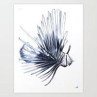 Scorpleonfish 1 Art Print