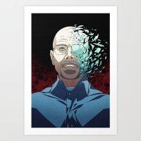 Ozymandias (Walter White - Breaking Bad) Art Print