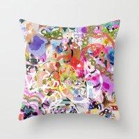 Party Girl 2 Throw Pillow