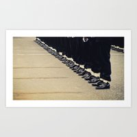 At Attention Art Print
