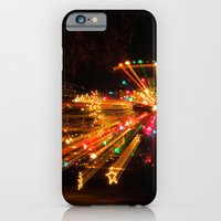 Candy Cane Lane Chevy Tr… iPhone 6 Slim Case