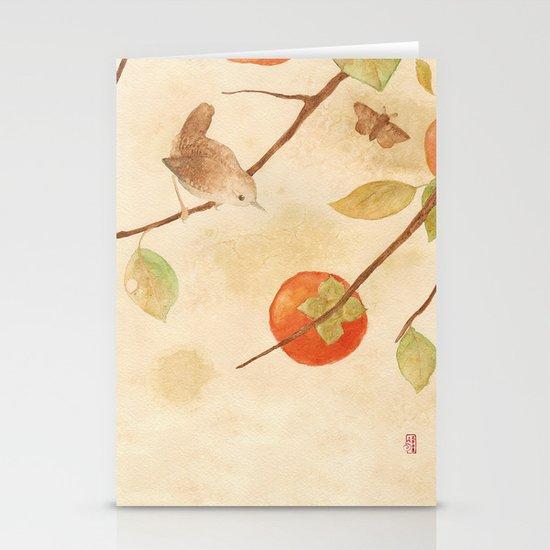 Winter Wren Stationery Card
