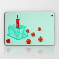 Cherry Tomato Cat Laptop & iPad Skin