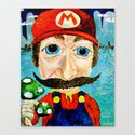 """1up"" Canvas Print"