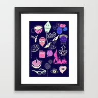 All The Feels Framed Art Print