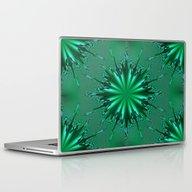 Seafoam Bursts - HS Seri… Laptop & iPad Skin