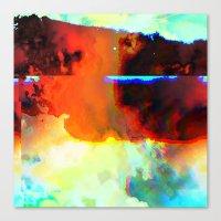 23-03-44 (Cloud Glitch) Canvas Print
