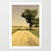 Lonely Road Art Print