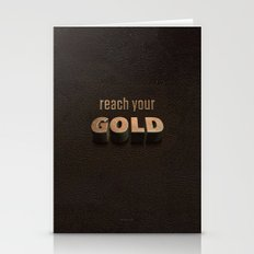 reach your GOLD Stationery Cards