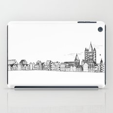 sketchy town iPad Case