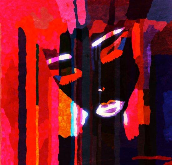 Metropolis Girl Art Print