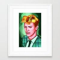 The Thin White Dude Framed Art Print