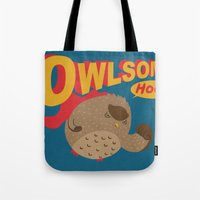 Owlsome Guardian Tote Bag
