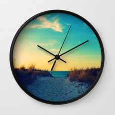 Walk In Love Wall Clock