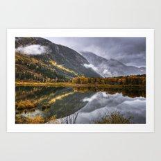 Bever Lake Art Print
