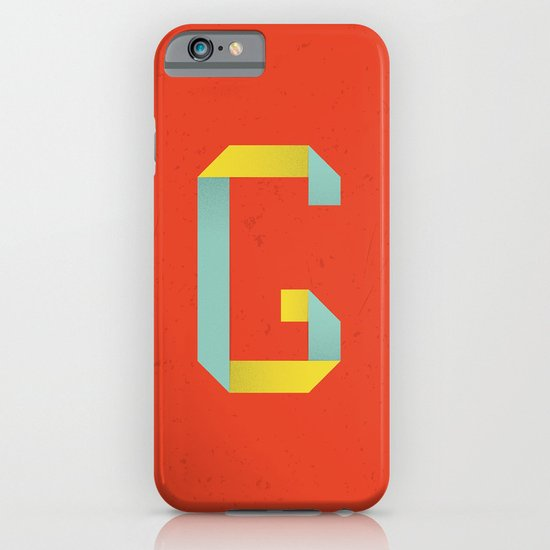 G 001 iPhone & iPod Case