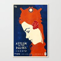 Asylum of the Daleks Canvas Print