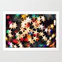Oh Starry Night Art Print