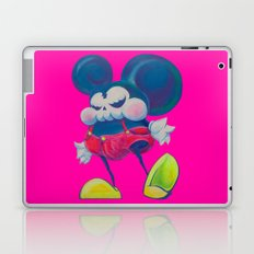 fatty skinny mickey skull Laptop & iPad Skin