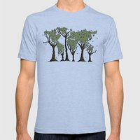 Tree World Mens Fitted Tee Athletic Blue SMALL