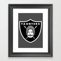 Taunters Framed Art Print