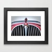 Jaguar Mark 2 Framed Art Print