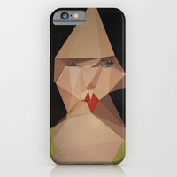 iPhone & iPod Case featuring pretty face by PandaGunda