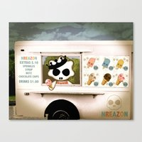 Ice Cream Delivery By NR… Canvas Print