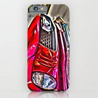iPhone & iPod Case featuring Mustang on Hollywood Hills by Sarah Zanon