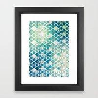 Stars Pattern #003 Framed Art Print