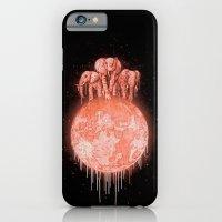 Elephants On Moon (varia… iPhone 6 Slim Case