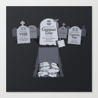 Death Of A Loved One Canvas Print