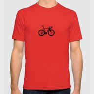 Sport Bike Mens Fitted Tee Red SMALL