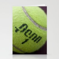 Anyone For Tennis? Stationery Cards