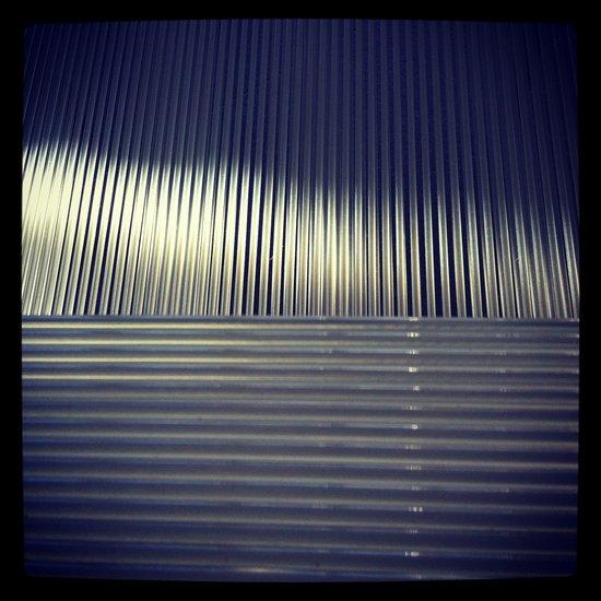 LIGHT AND STRIPES Art Print