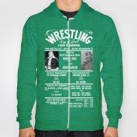 #2-B Memphis Wrestling Window Card Hoody